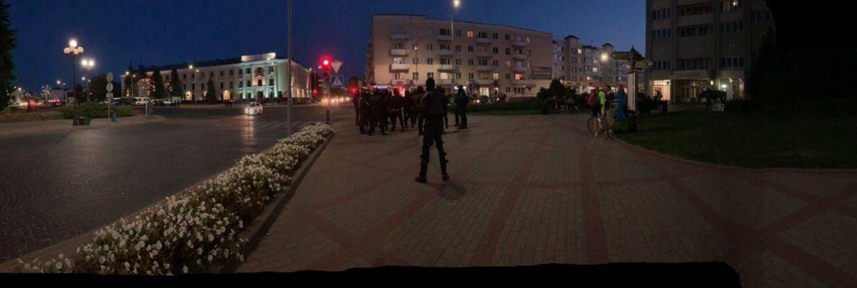 Что происходит в Барановичах 23 сентября после инаугурации Лукашенко. Онлайн