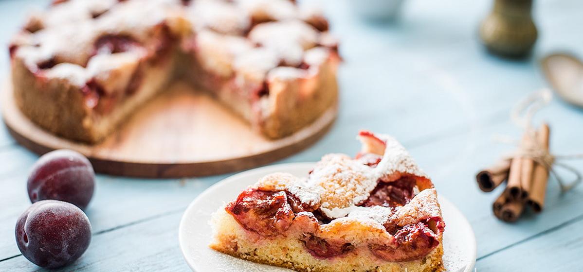 Вкусно и просто. Сливовый пирог