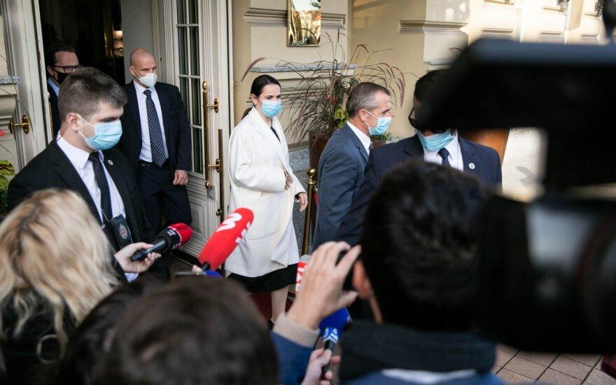 Светлана Тихановская встретилась с президентом Франции Эммануэлем Макроном. О чем они говорили