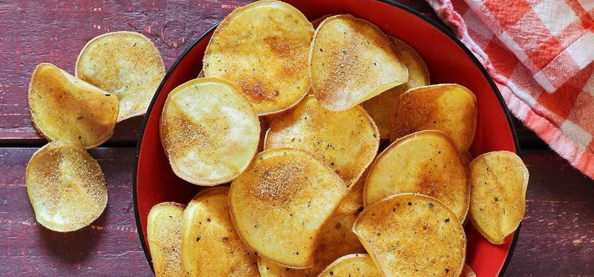 Вкусно и просто. Картофельные чипсы