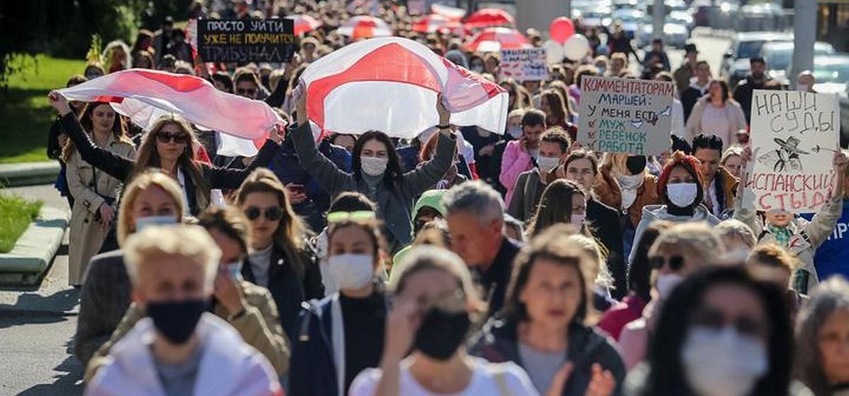 Как разворачиваются события 19 сентября в Минске