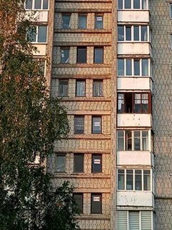 24 сентября 2020 года, один из домов в Восточном микрорайоне.