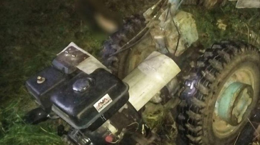 Мужчину задавило мотоблоком в Каменецком районе
