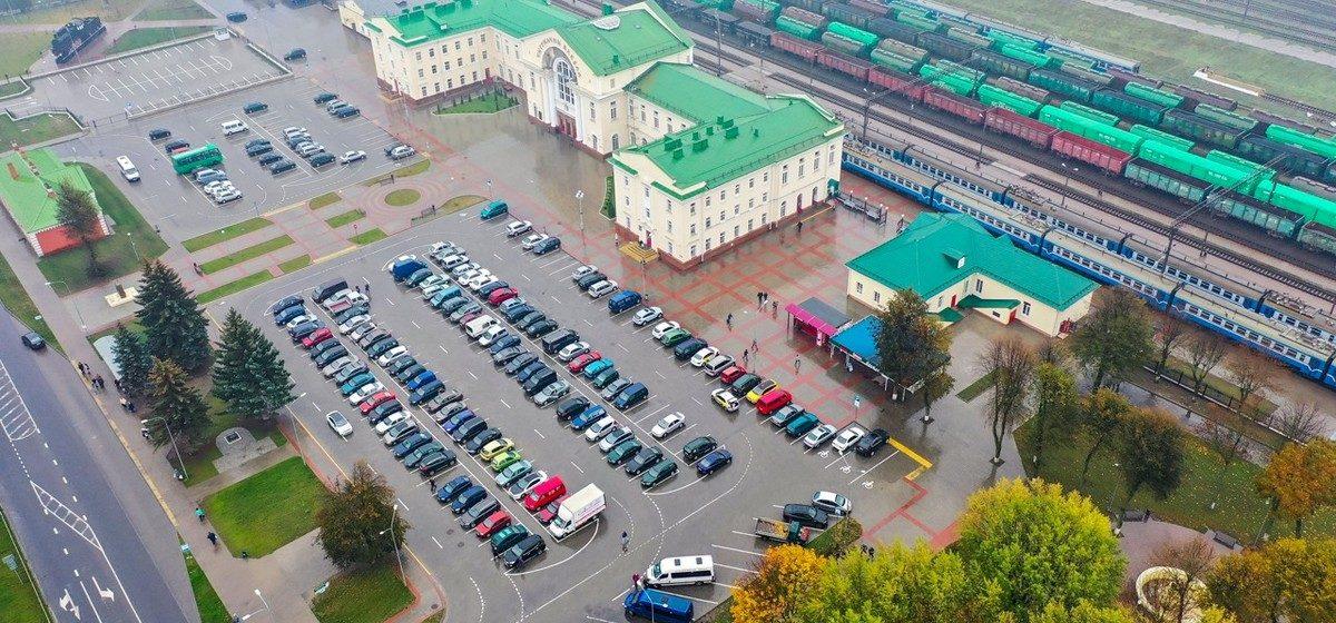 Барановичи осенние. Фото и видео города с высоты птичьего полета