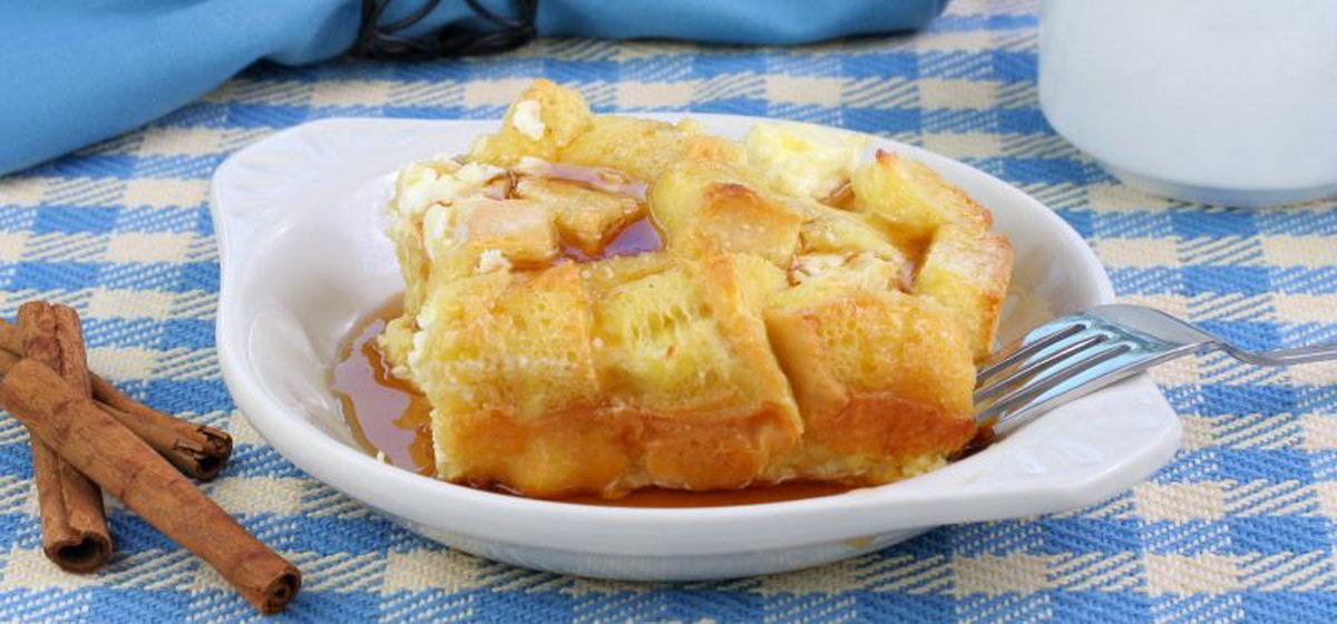 Вкусно и просто. Французские тосты с яблоками в микроволновке