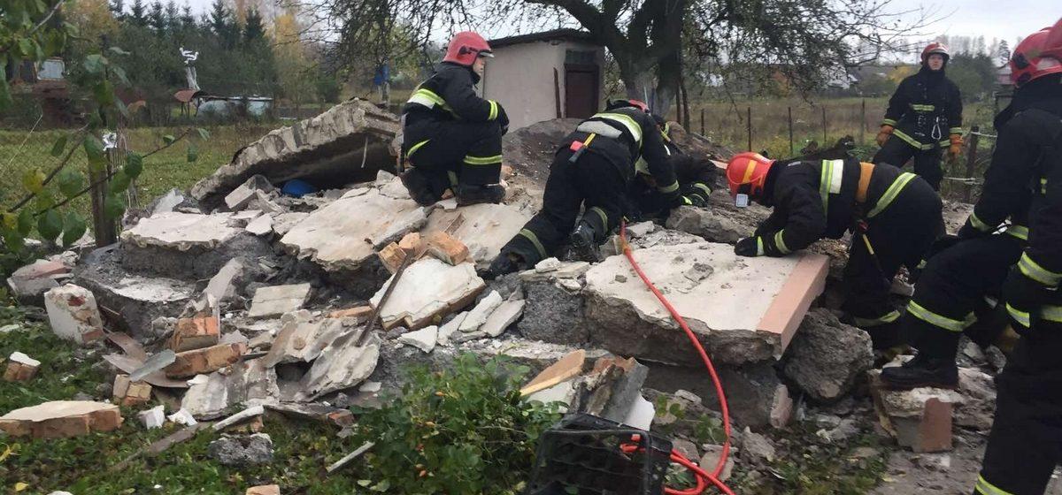 Летняя кухня взорвалась в Молодечненском районе. Есть погибший