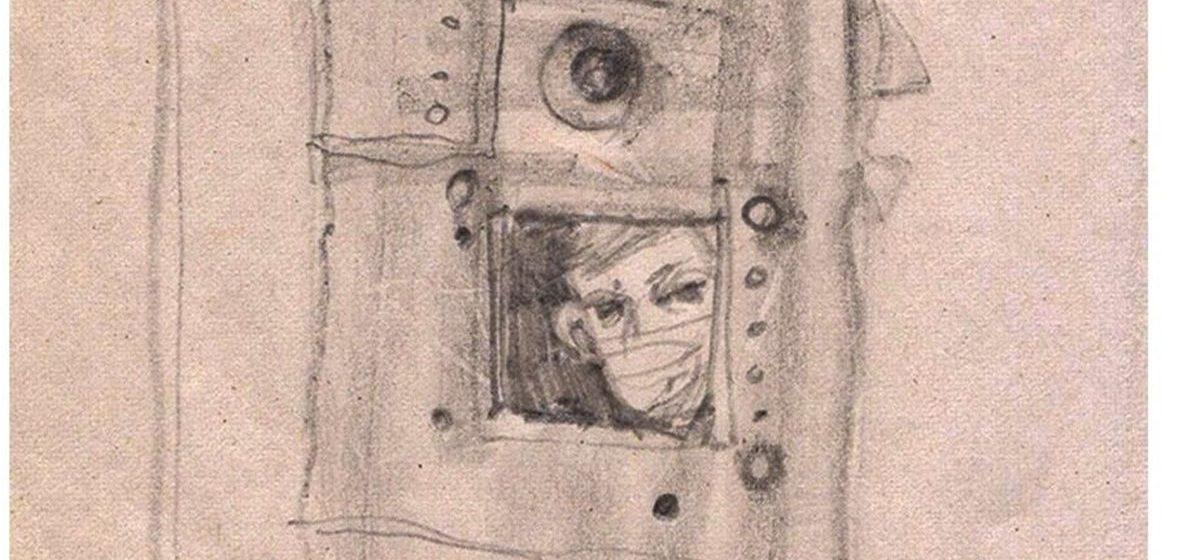 Мінская мастачка сядзела ў баранавіцкім ізалятары №6 і зрабіла замалёўкі свайго побыту ў камеры