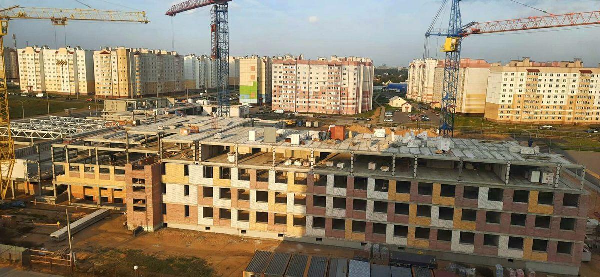 Как идет строительство школы в Барановичах и когда ее сдадут в эксплуатацию