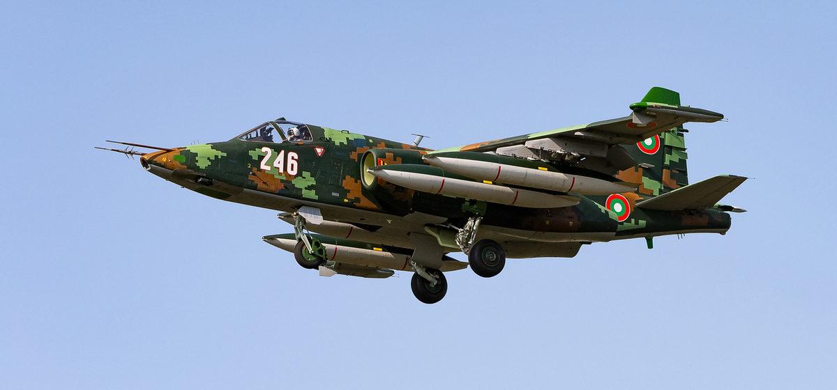 Отремонтированные в Барановичах штурмовики Су-25 прибыли в Болгарию