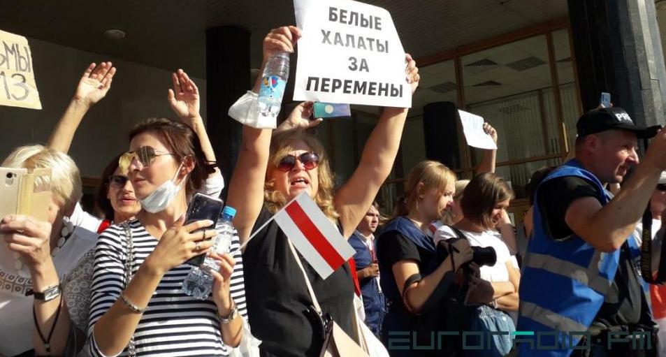 Лукашенко: Когда мне говорят, что врач где-то развернул коллаборационистское знамя, мне плохо становится