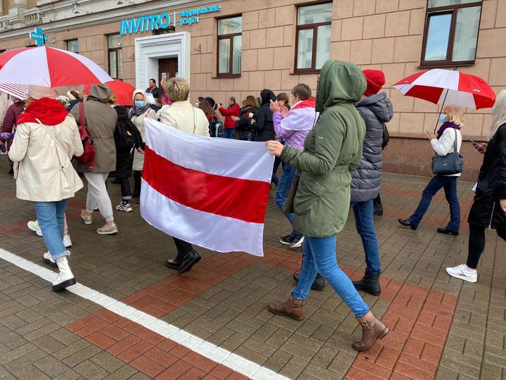 Что происходит в Минске 24 октября: женский марш и новые задержания
