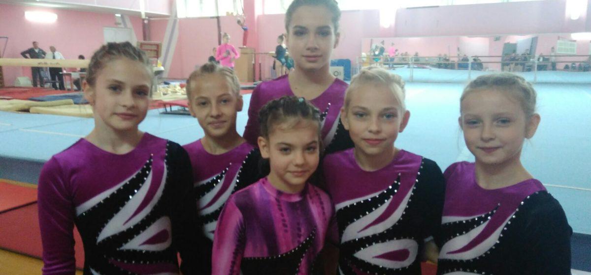 Как гимнасты Барановичей отличились на домашнем первенстве области?