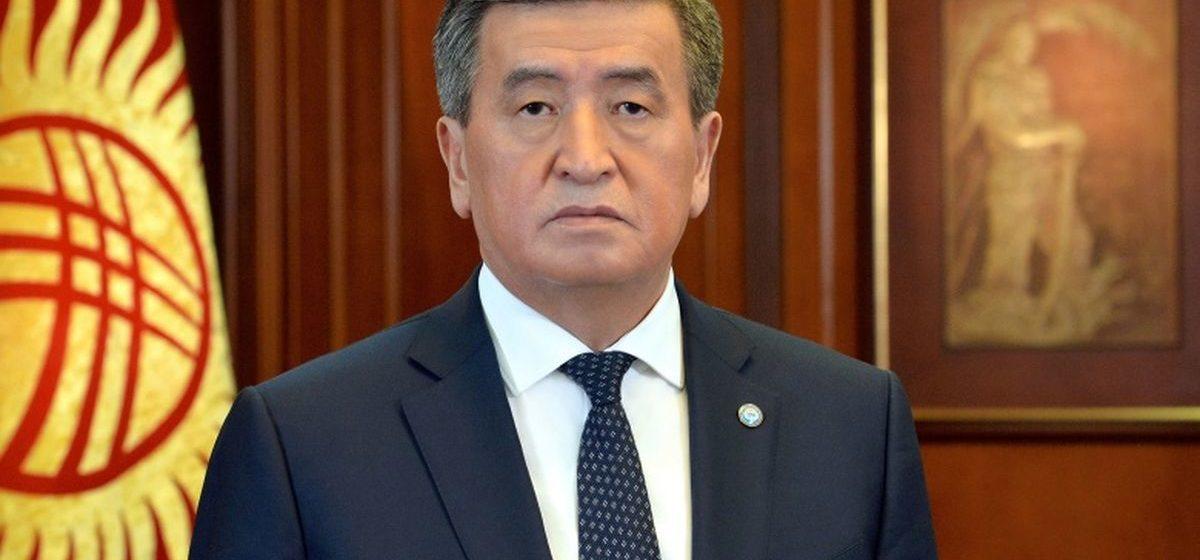 Президент Кыргызстана заявил о своей отставке
