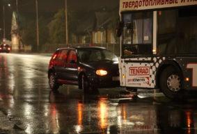 Три аварии произошло почти в одно время в Барановичах, одна из них с участием автобуса