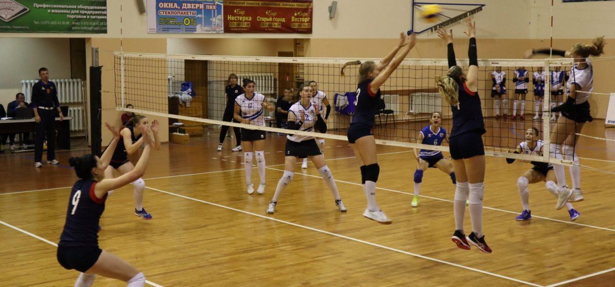 Как закончился первый матч в Кубке Беларуси для волейболисток «Атланта»?