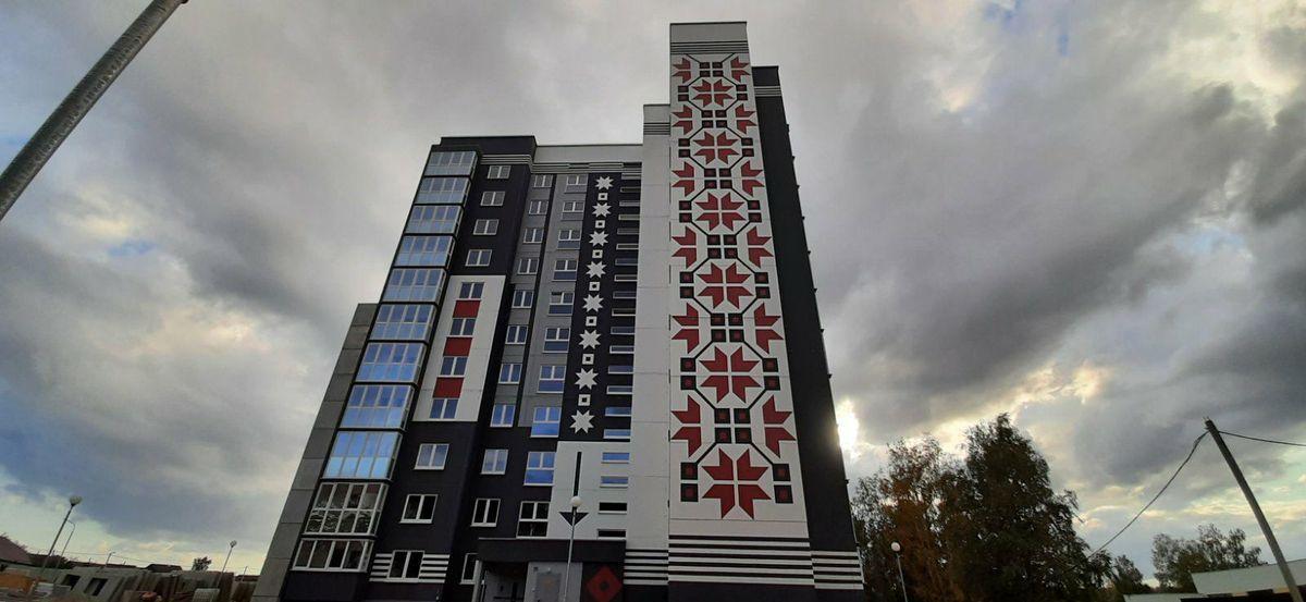 Многоэтажка в Барановичах признана одной из лучших в Беларуси