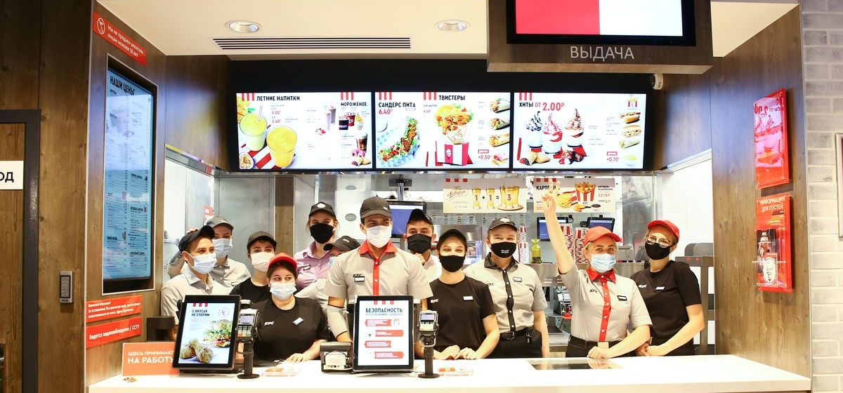 Первый ресторан KFC открылся в Барановичах*
