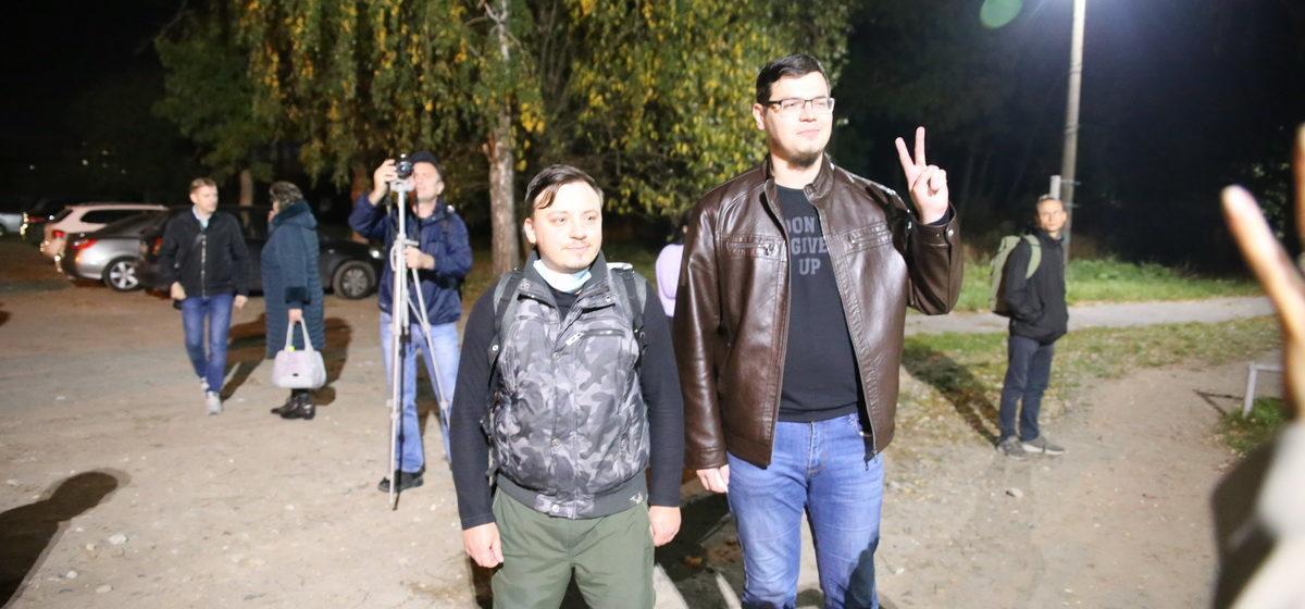 Журналистов телеканала «Белсат» выпустили из СИЗО в Барановичах