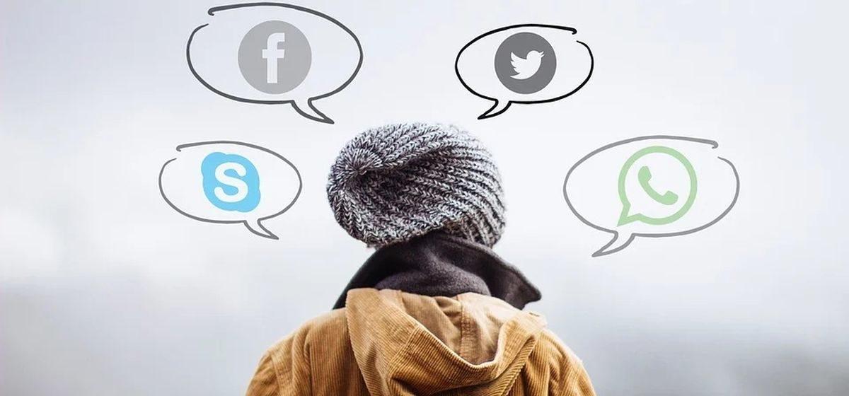 В каких социальных сетях зарегистрированы жители Барановичей и сколько времени они в них проводят