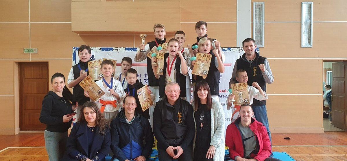 Как выступили юные барановичские каратисты на турнире в Витебске?