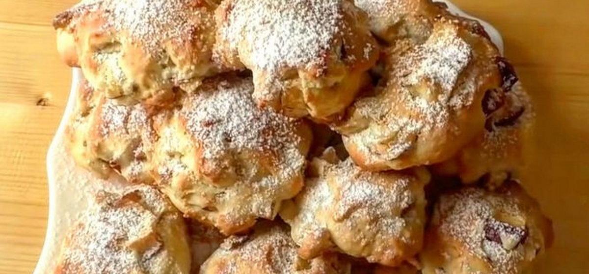 Вкусно и просто. Мягкое печенье с яблоками