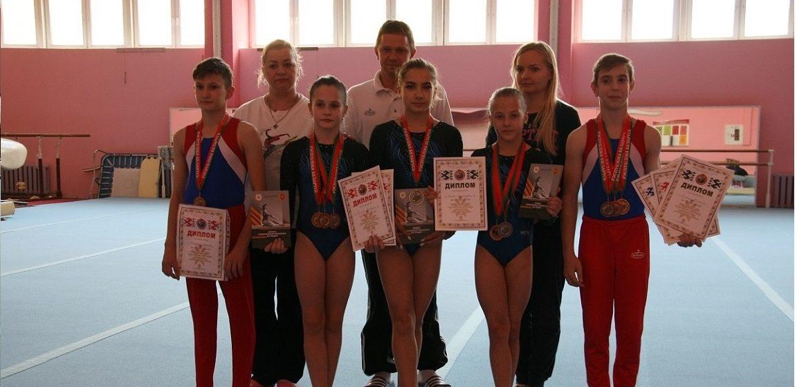 Сколько медалей у барановичских гимнастов на первенстве страны?