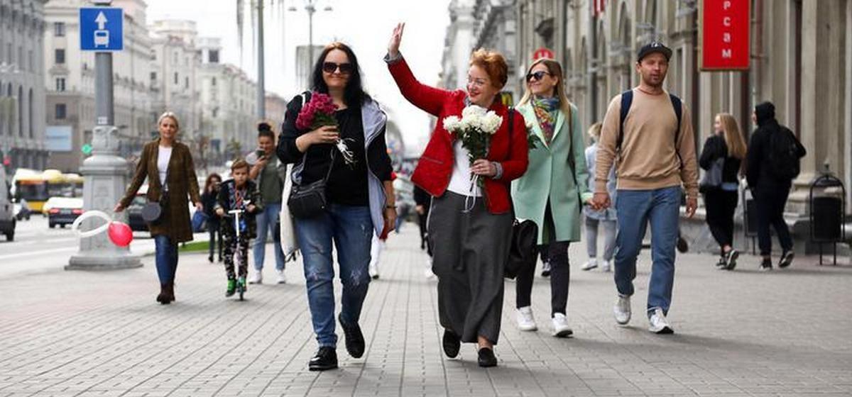 Женские демарши против политических репрессий. Что происходит в Беларуси и за ее пределами 10 октября