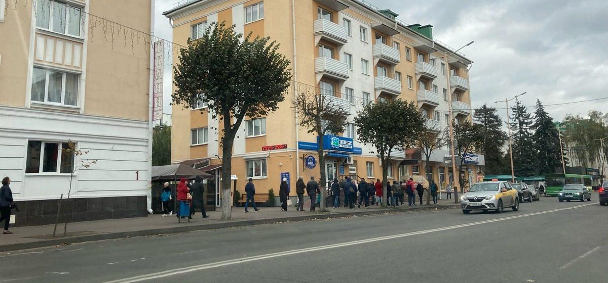 Что происходит в Барановичах 18 октября. Марш партизан и задержания