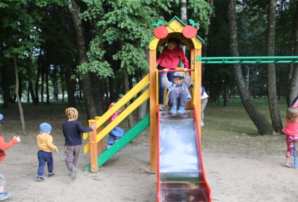 Детские площадки, которые приносят радость