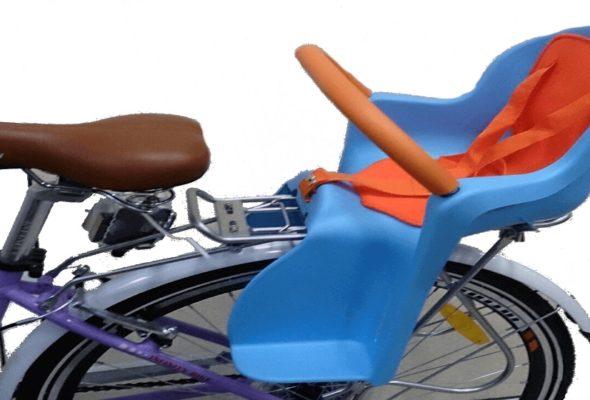 Велопрогулки с ребенком будут комфортными