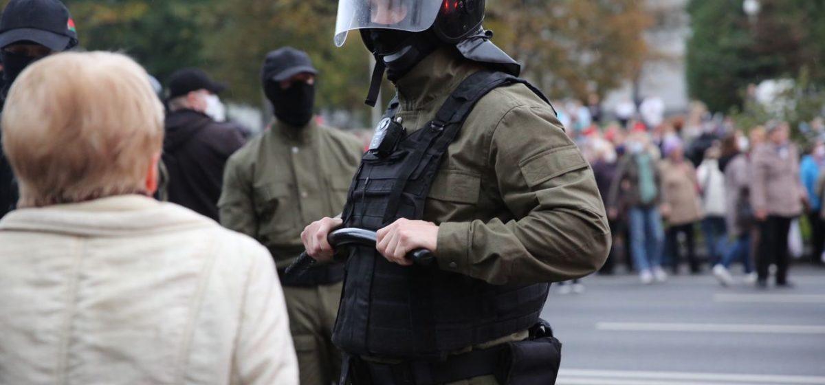 В милиции подтвердили применение газа и светошумовых патронов против пенсионеров