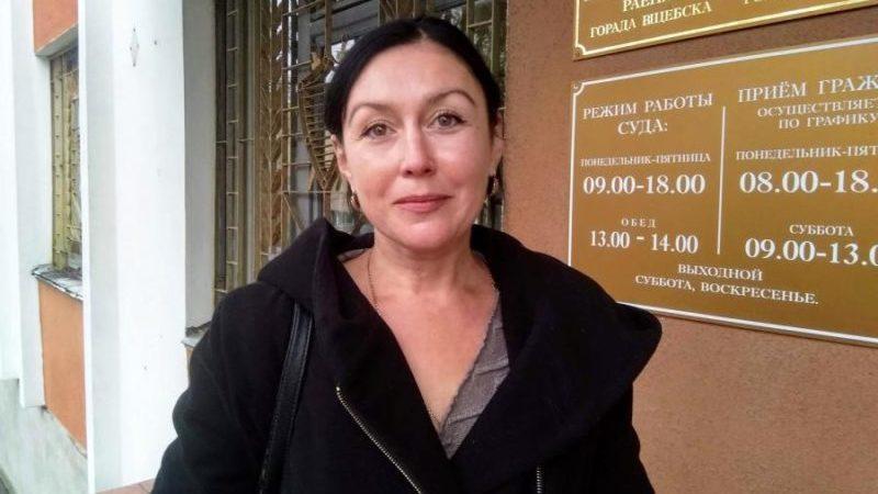 Женщина в Витебске получила штраф за митинги в два раза больше своей зарплаты