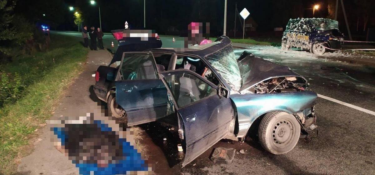 Два водителя погибли в страшной аварии под Кобрином