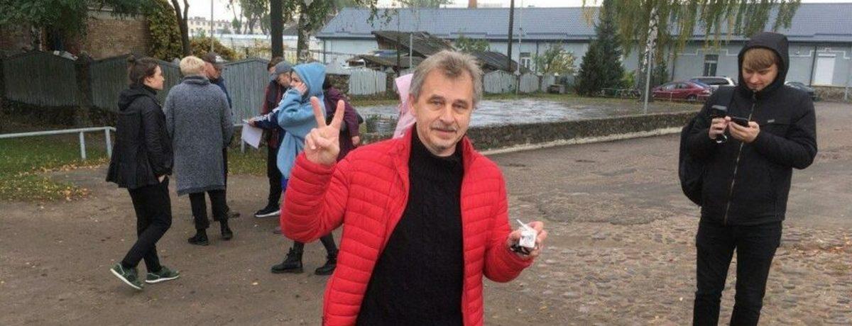 Лебедько вышел из барановичского СИЗО после 15 суток. Он рассказал про ужесточение режима пребывания