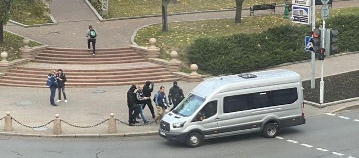 В МВД рассказали, сколько людей задержали на акциях протеста 25 октября