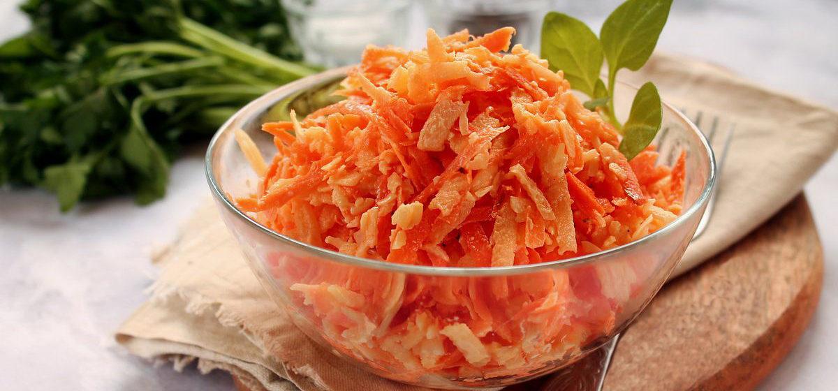 Вкусно и просто. Салат из моркови с майонезом и чесноком