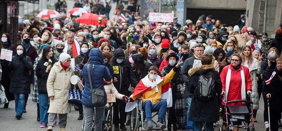 Что происходит в Минске 31 октября: два марша в одном — женский и людей с инвалидностью. Обновляется
