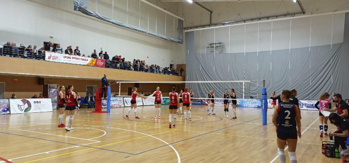 Как сыграли барановичские волейболистки в Мозыре против действующего серебряного призера?