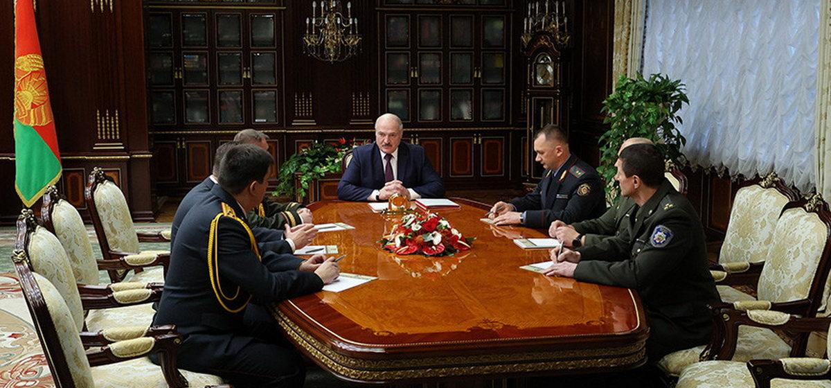Лукашенко произвел кадровые изменения в руководстве МВД