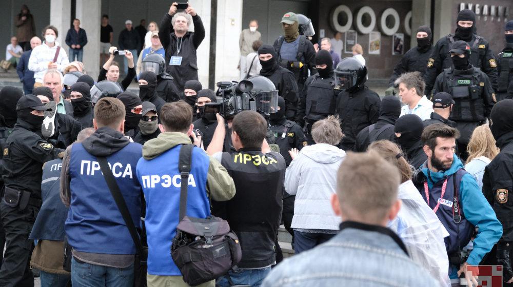 Репортаж с петлей на шее. Белорусские власти прессуют прессу по беспределу