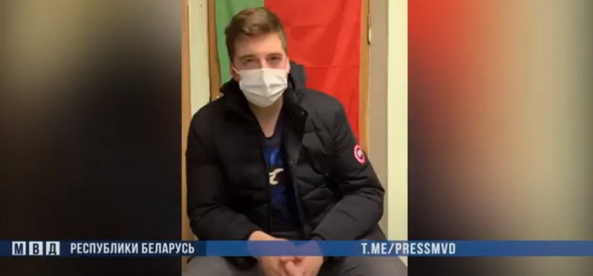 В Минске задержан администратор Telegram-канала «Белые халаты». Видео