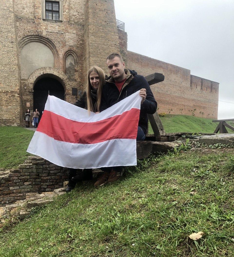 Юлия и Вячеслав в Украине / Фото из личного архива