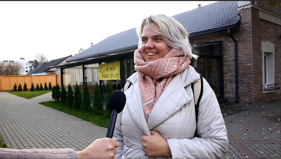 Знают ли жители Барановичей, какой праздник отмечается 7 ноября. Видео