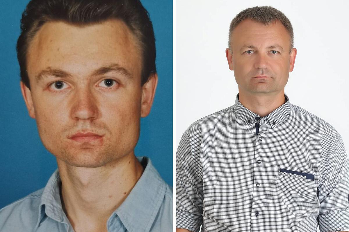 Павел Павловский в студенчестве и сейчас. Фото: архив Павла ПАВЛОВСКОГО