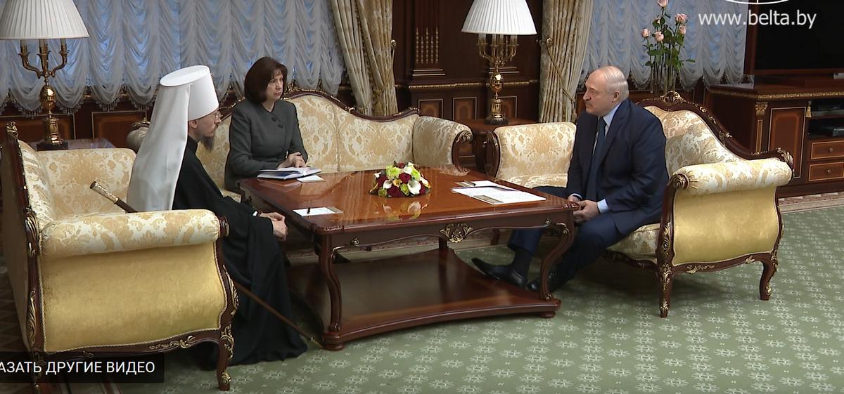Лукашенко: Дефицит священнослужителей за пятилетку надо ликвидировать