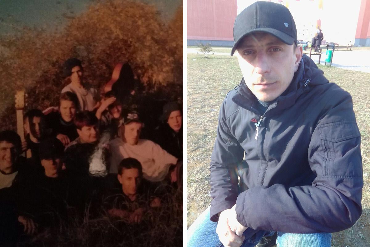 Николай Даначев в студенческие годы и сейчас. Фото: архив Николая ДАНАЧЕВА
