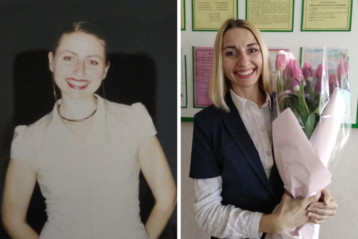 Наталья Ярошевич в студенчестве и сейчас. Фото: архив Натальи ЯРОШЕВИЧ