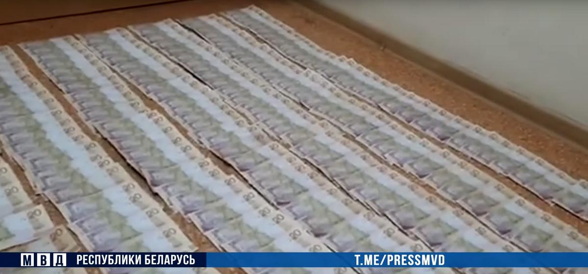 В Кобрине, где нашли почти 14 тыс. фальшивых рублей, задержан их изготовитель