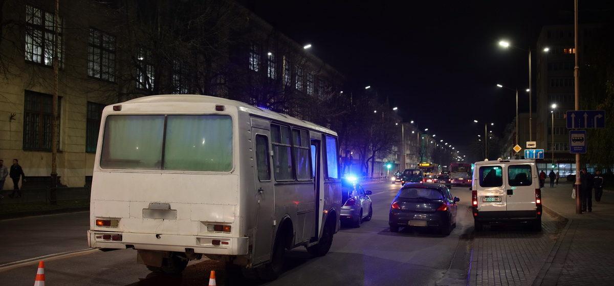 Сразу две аварии произошли в Барановичах вечером 12 ноября, одна из них с участием автобуса