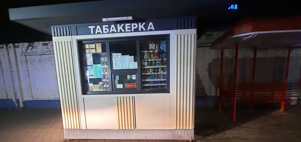 Киоск «Табакерка» горел в Барановичах